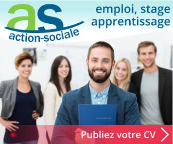 emploi action sociale cvtheque cv